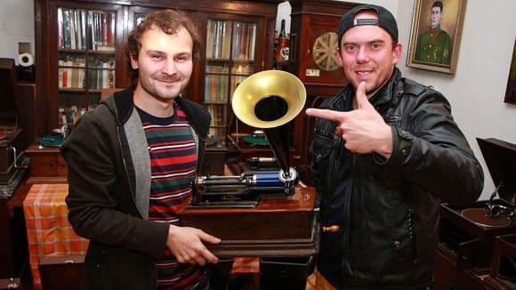 Renovace starých gramofonů