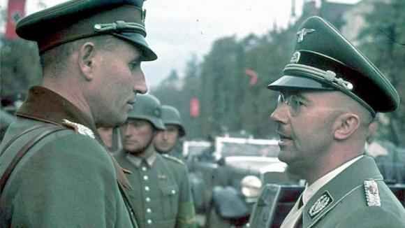 Himmler na barevné fotografiii