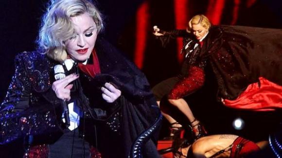 Madonna má za sebou strašlivý zážitek!