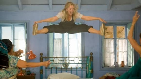 Záběry z filmu Mamma MIa!