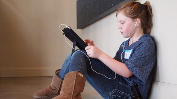 Výuka na tabletech je pro současné děti přínosem. FOTO: Brad Flickinger