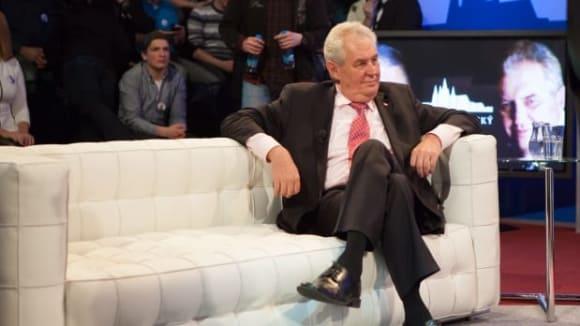 Prezidentský duel - Miloš Zeman a Karel Schwarzenberg - Obrázek 20
