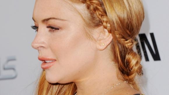 Lindsay Lohan pěkně přibrala