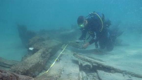 Archeologie pod mořem