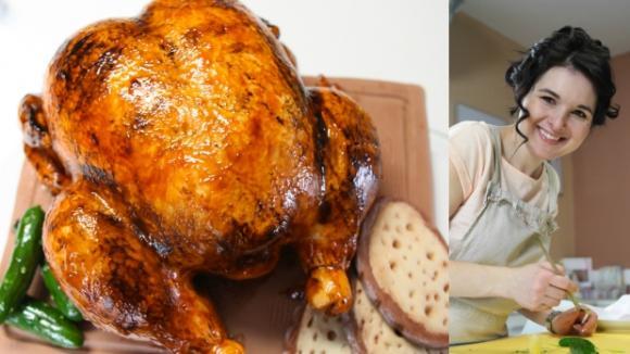 Božská Markéta tentokrát upekla kuře
