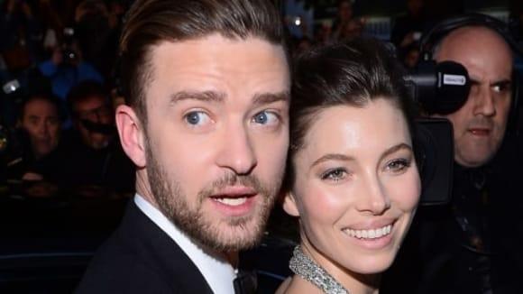 Justin Timberlake s přítelkyní herečkou Jessicou Biel v Cannes
