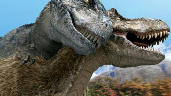 Páření tyranosaurů
