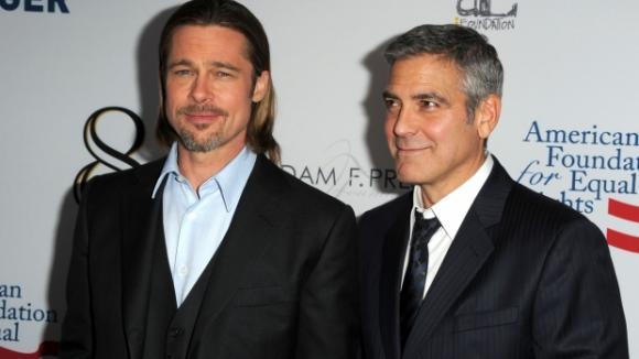 Nejlepší přátelé: George Clooney a Brad Pitt