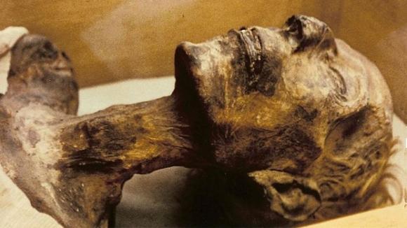 Mumie Ramsese II.