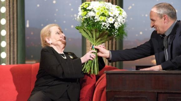 Hosté v pořadu Show Jana Krause - Madeleine Albrightová