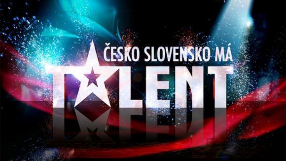 Česko Slovensko má talent - logo