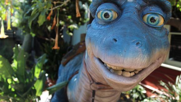 Dinosaurus s velkýma očima