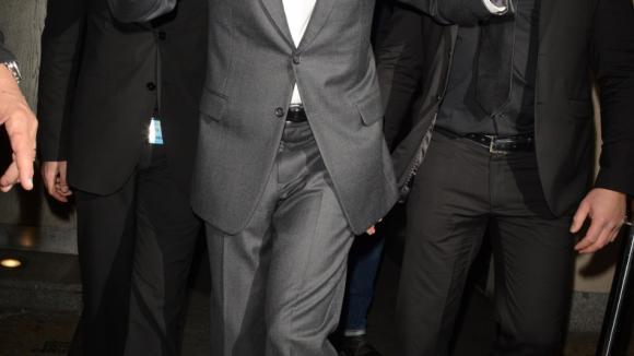George Clooney se roztančil před londýnskou restaurací