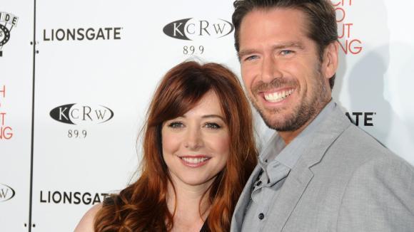 Alyson Hannigan a její manžel