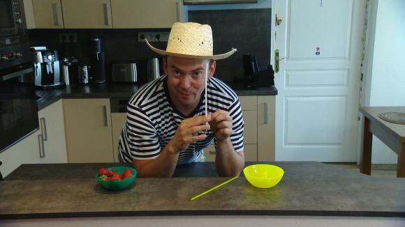 Vychytávka Ládi Hrušky - jak odstopkovat jahody