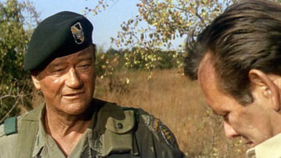 John Wayne v Zelených baretech