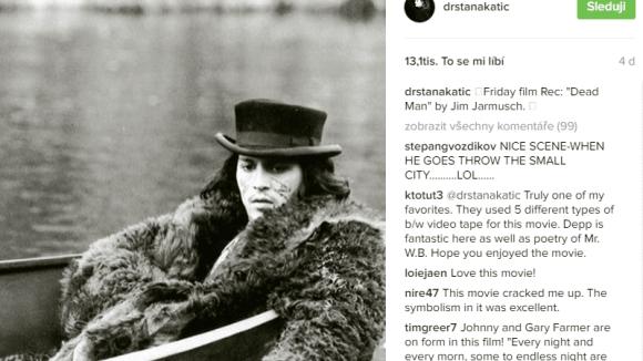 Johnny Depp se líbí Szaně Katic