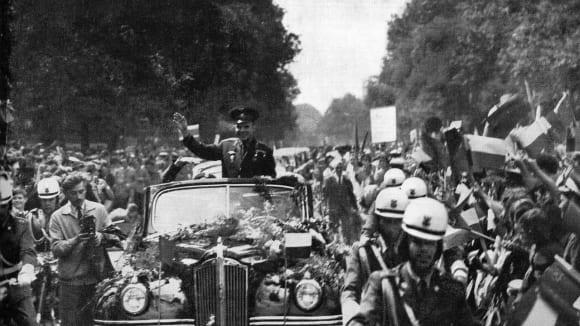 Jurij Gagarin ve Varšavě