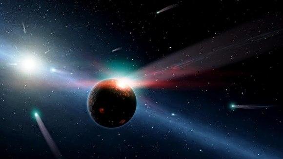 Vesmír plný komet