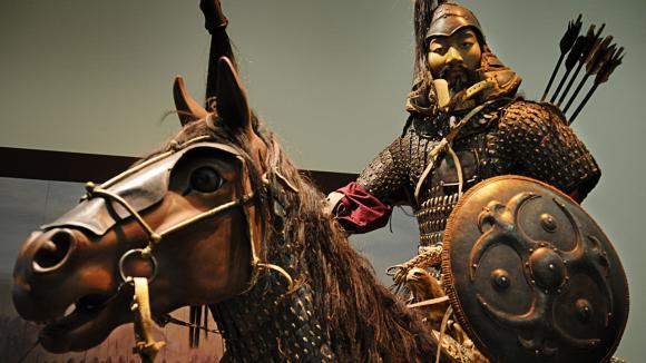 Mongolský bojovník
