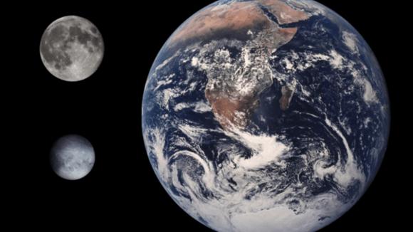 Srovnání Pluta a Země