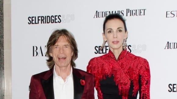 L'Wren Scott a Mick Jagger