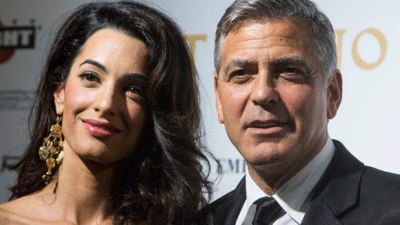George Clooney a Amal Alamuddinová