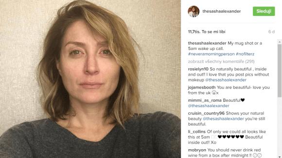 Rizzoli a Isles: Sasha Alexander bez make-upu