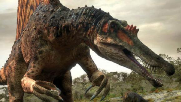 Obří spinosaurus
