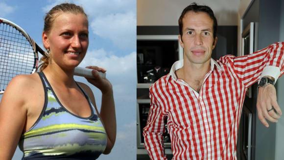 Nový tenisový pár: Petra Kvitová a Radek Štěpánek