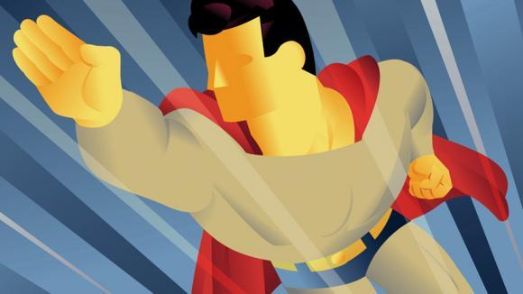 Bylo by krásné být Superman :)