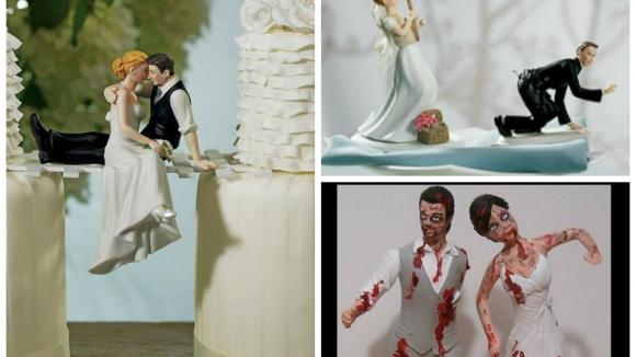 Báječné dorty: svatební postavičky