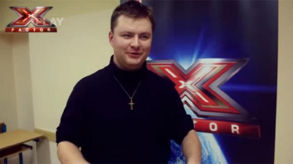 Miroslav Sýkora na pražském castingu do X-Factoru