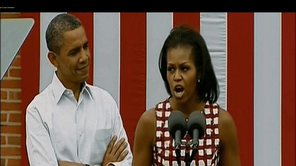 Michelle Obama prý špatně snáší údajné nevěry svého muže