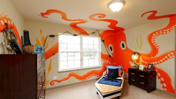 Psychedelické prolnutí chobotnice a popeláře se dítěti vepíše do hlavičky