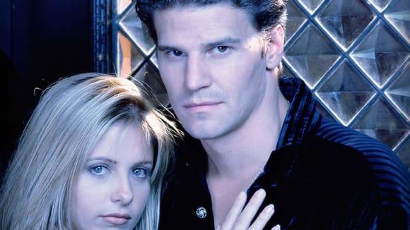 David Boreanaz v první velké roli Angela z Buffy