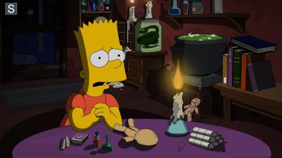 Simpsonovi - Bart jako šaman