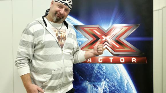 Jiří Zonyga na castingu X Factoru