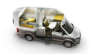Volkswagen California XXL nabízí cestovatelům dokonalé pohodlí.