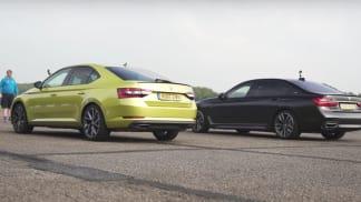 BMW M760 Li vs. Škoda Superb