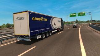 Goodyear virtuální tahač