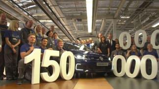 Koncern Volkswagen vyrobil 150 milionů vozů.