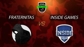 5. epizoda - League of Legends - Fraternitas vs Inside Games - 1. mapa