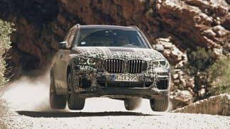 BMW X5 testování prototypu