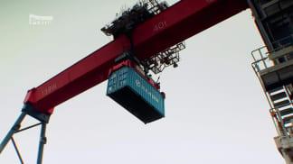 Vteřiny od kolize 1 - jak vyložit kontejnerovou loď