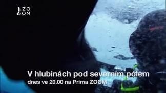 V hlubinách pod severním pólem 1 - potápění pod ledem