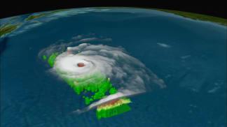 Anatomie hurikánu