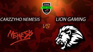 1. epizoda - League of Legends - Carzzyho Nemesis vs Lion Gaming