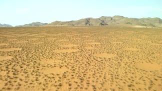 Afrika z výšky 5 - záhadné kruhy v Namibii
