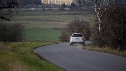 Škoda Octavia RS TDI jízda 5